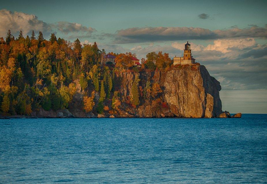 "Split Rock Lighthouse along Minnesota's Lake Superior ""North Shore"" in..."