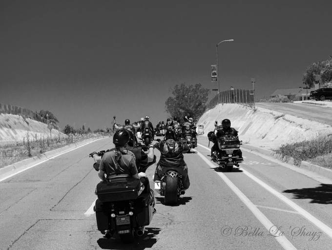 This ride was part of a protest to ensure that everyone is treated equal.