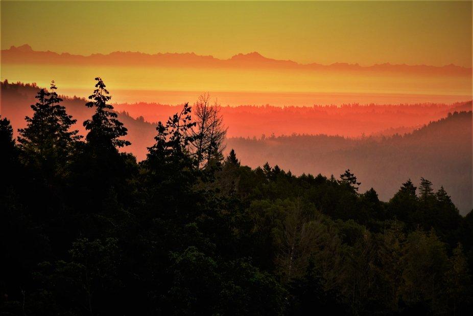 Sunrise BC , Canada