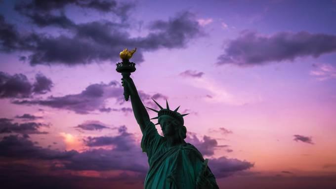 Sunset on Lady Liberty
