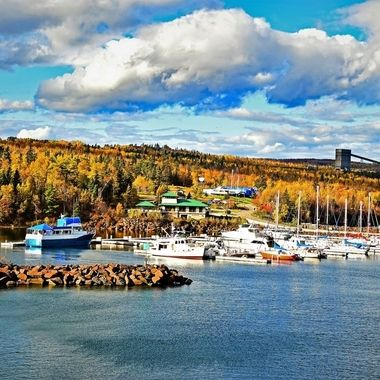 Fall on the shores of Lake Superior