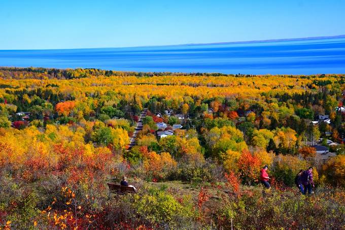 Overlooking Lake Superior