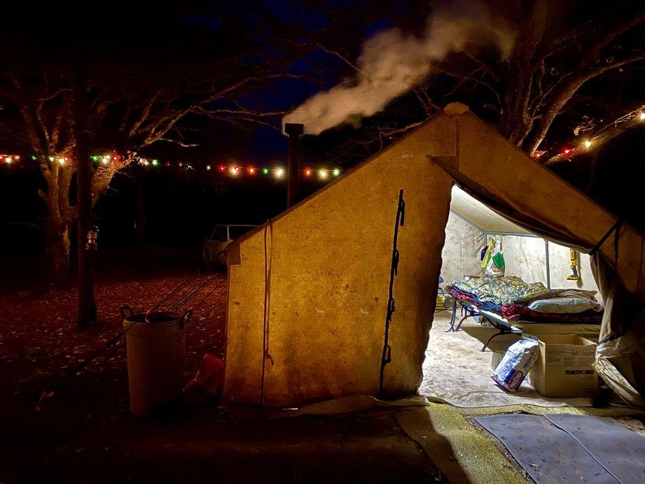 Deer Camp Southeastern Oklahoma