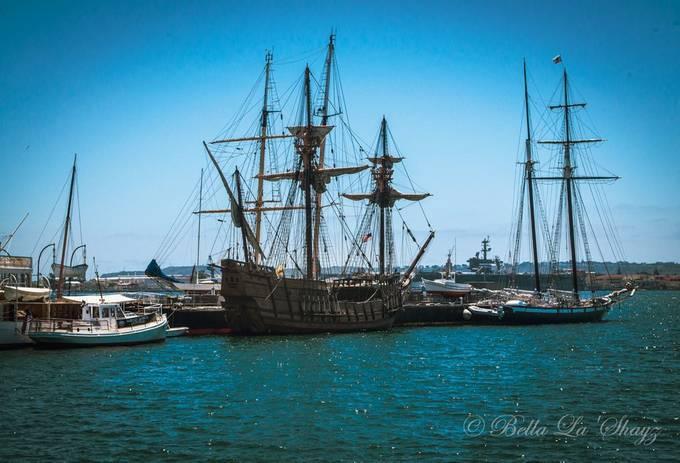 Maritime Museum San Diego Harbor