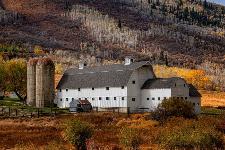 That Barn  Anyone driving into Park City knows this barn. This iconic building greets visitors ju...