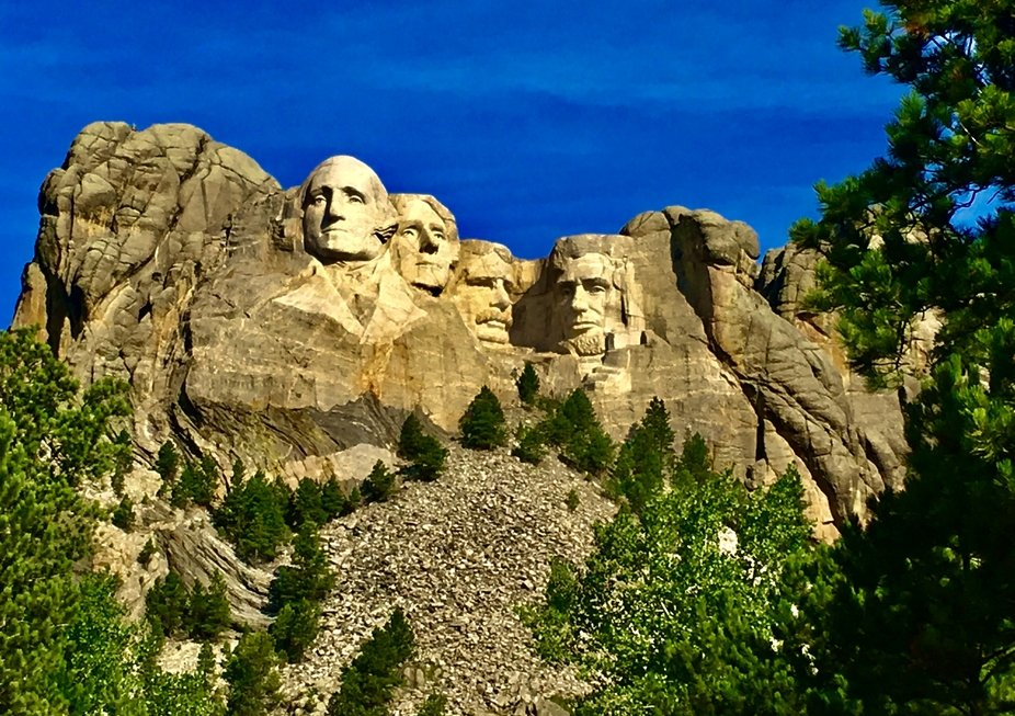 Mt. Rushmore in South Dakota 2019