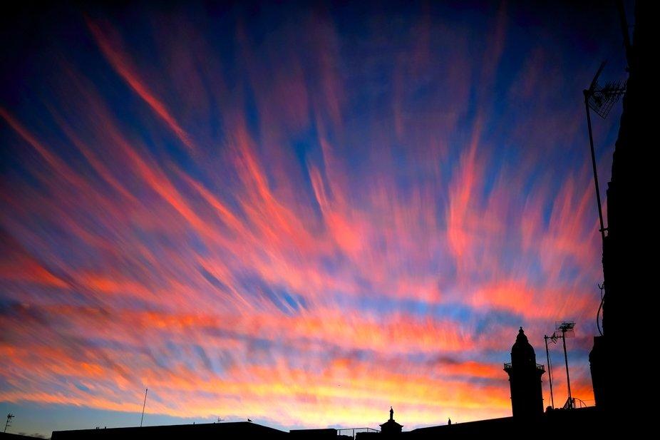 Sunset, Spain, Mallorca, Molinar