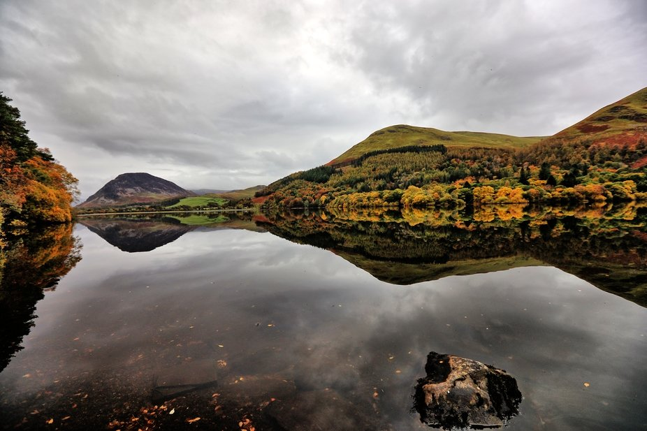 no wind makes for great reflections in Loweswater
