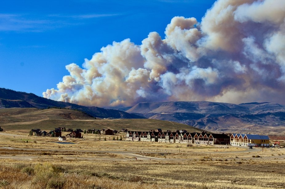 October 21st, 2020 Grand County Colorado Fire