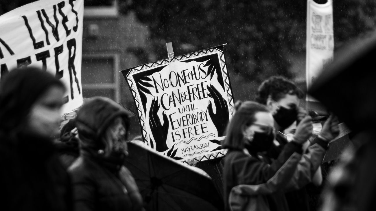 Another from the #CambridgeBlackLivesProtest that was held at #ParkersPiece.