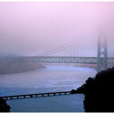 Bear Mtn Bridge-11 x 14 with border