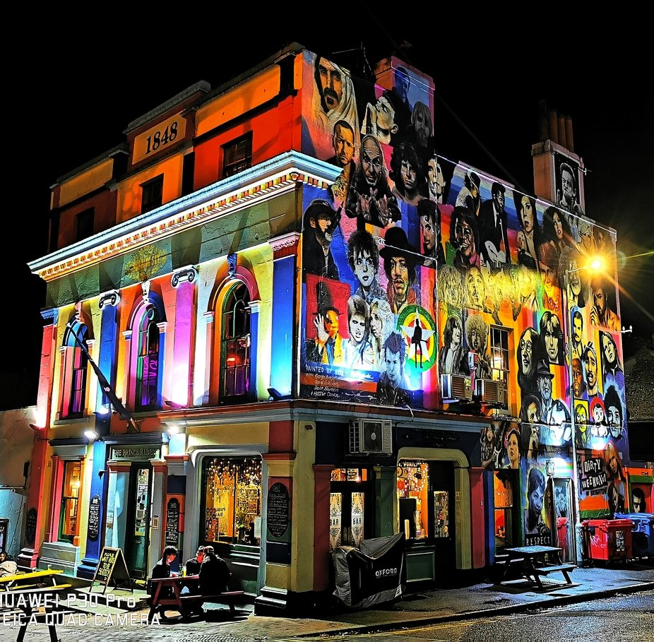 Prince Albert Public House bar Trafalgar Street Brighton East Sussex