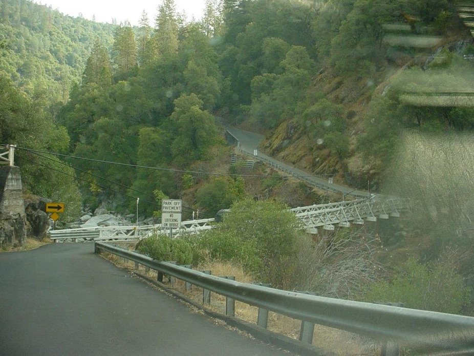 Mosquito bridge is in Placerville California and has been there since Lincoln was President.