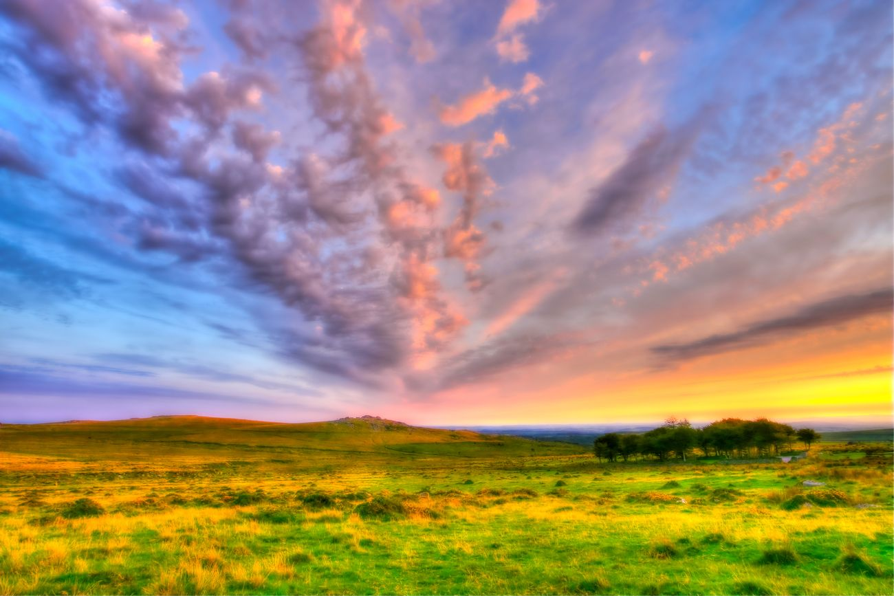 Dreamy Sunset, Princetown.