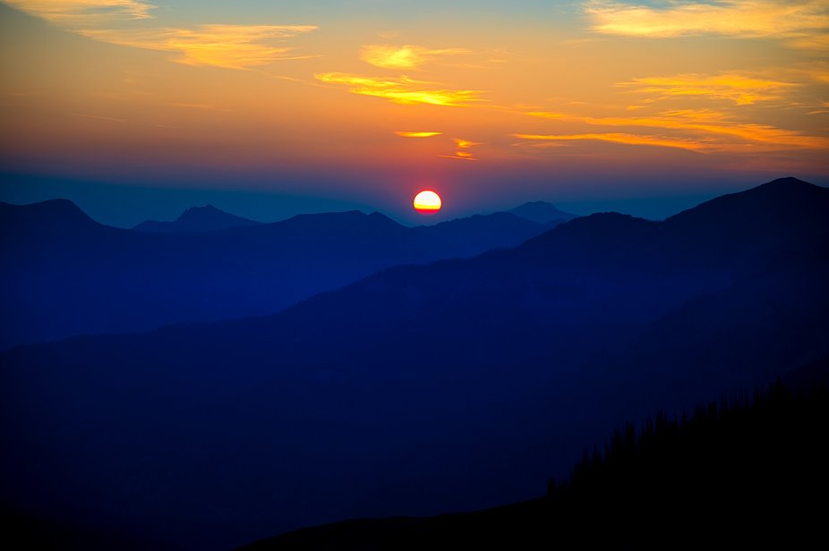 From Lobos Overlook in the San Juan National Forest.   Although it looks peaceful, the wind was b...