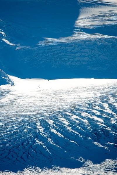 Shadows on Colony Glacier