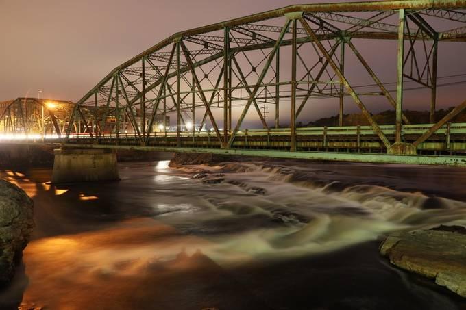 Falls under bridge. by swavzmarlicki - Everything Bridges Photo Contest