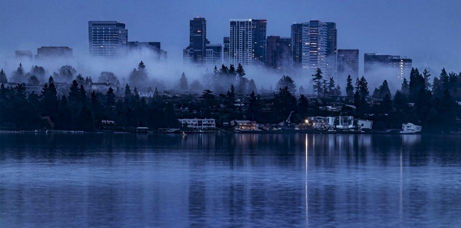 Blue Hour Over Lake Washington _ IMG_9562