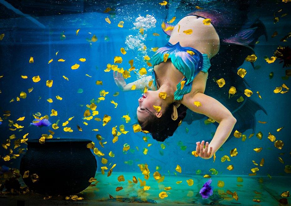 Katja the underwater mermaid!