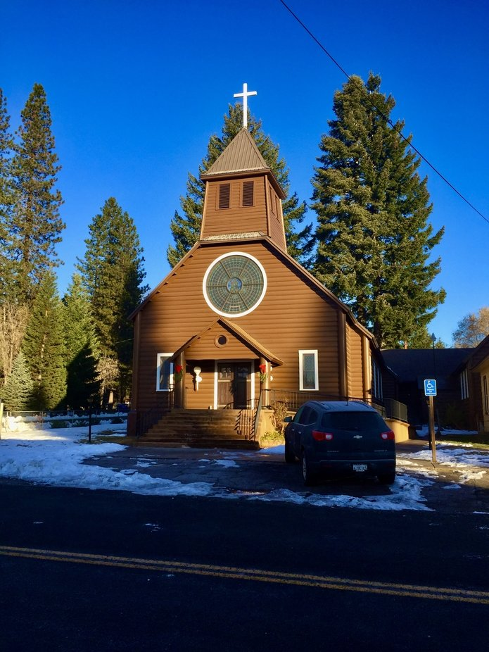Church in McCloud California