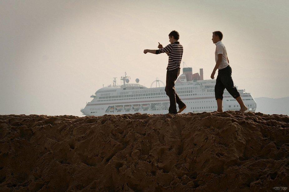 On a marché sur la dune ...