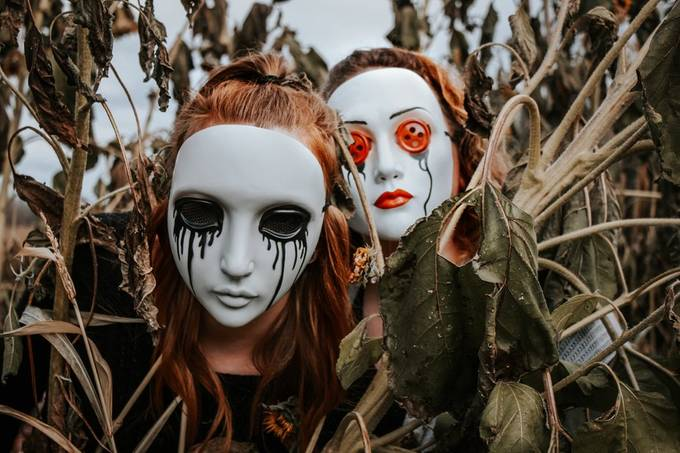 Sad and Spooky by magic-and-me - Scary Halloween Photo Contest