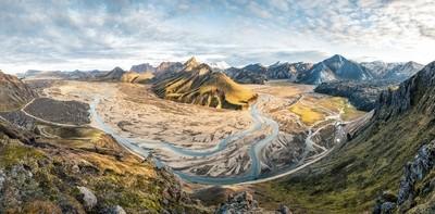 Norðurbarmur Panorama