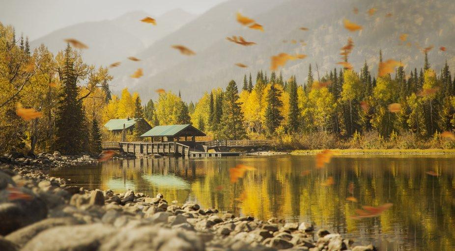 Taken at Lake Jenny , Grand Teton