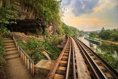 Krasae cave on the Death Railway