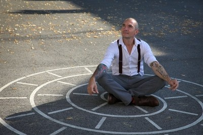 """Man in a spiral"" - Tattoo series 2020"
