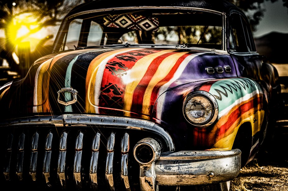 This Buick 88 is a California desert resident.