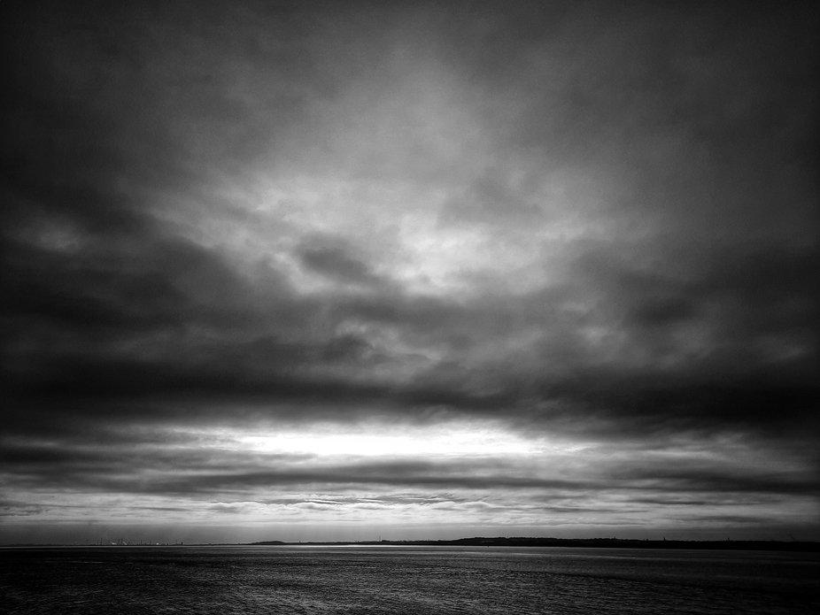 Otterspool promenade view across the Mersey