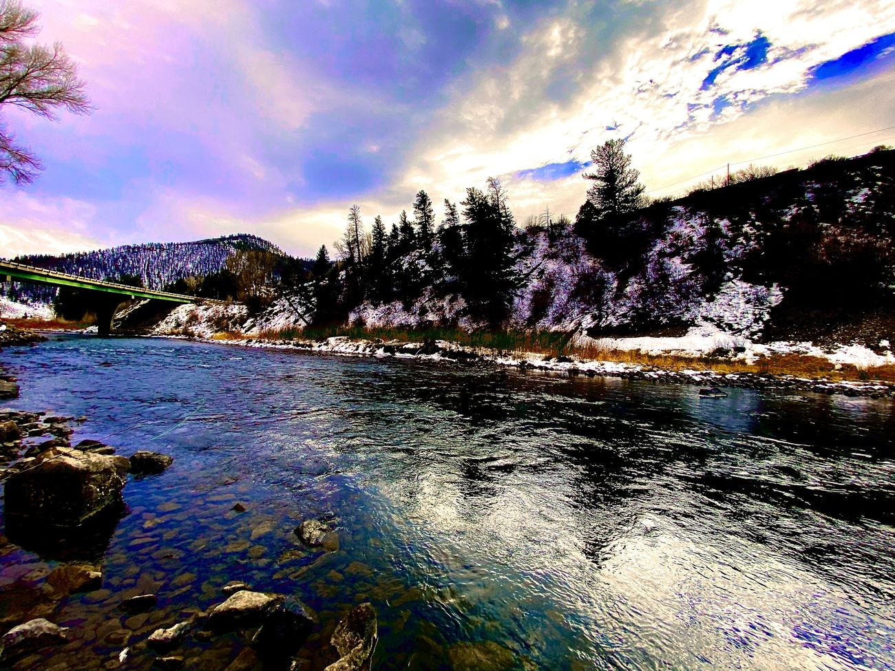 The Colorado River near Parshall, Colorado 11/2020