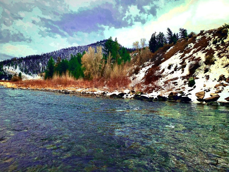 The Colorado River near Parshall, Colorado 11/2020