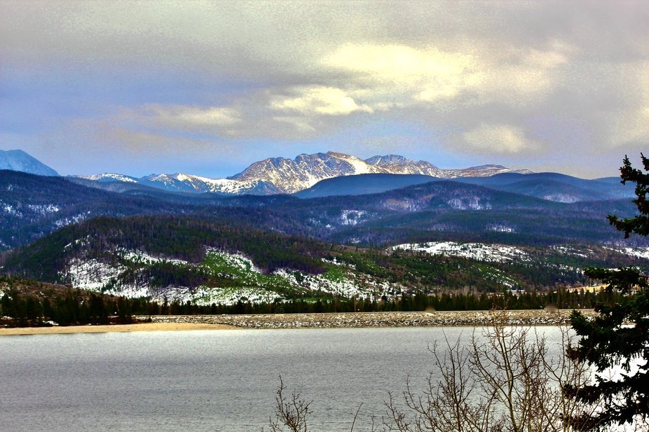 Shadow Mountain Lake near Granby Colorado 11/2020