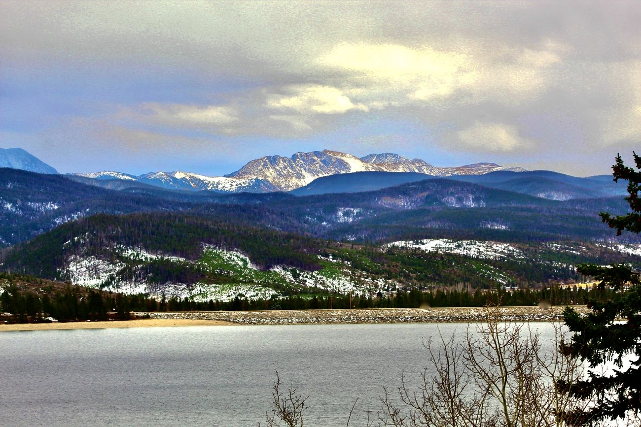 Shadow Mountain Lake near Granby Colorado 11/2020
