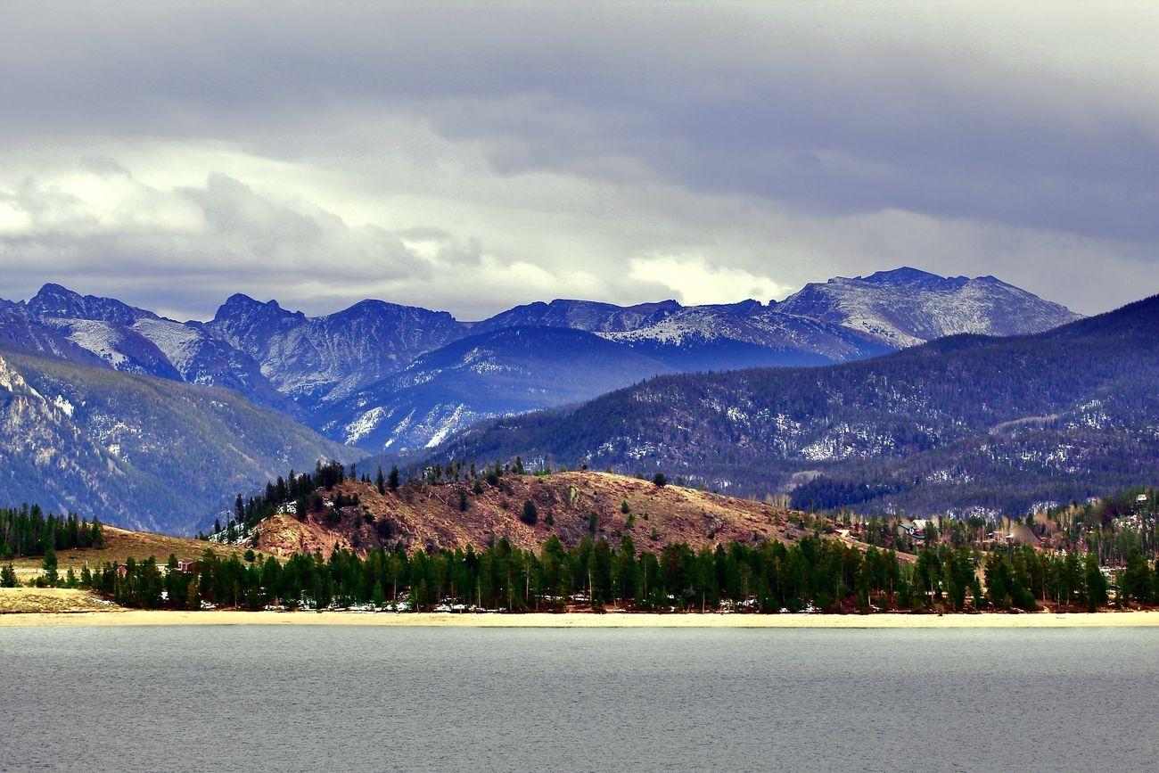 Shadow Mountain Lake near Grand Lake, Colorado