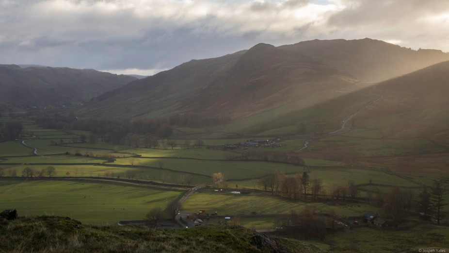 Gt Langdale Valley at Dawn