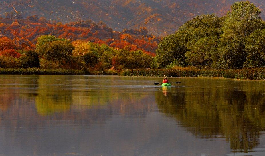 Boating on Lake Solano