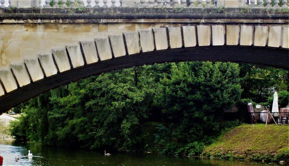 Bath Spa Railway Bridge 2009