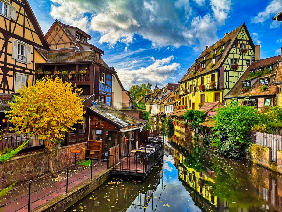 Autumn in all his beauty in Colmar