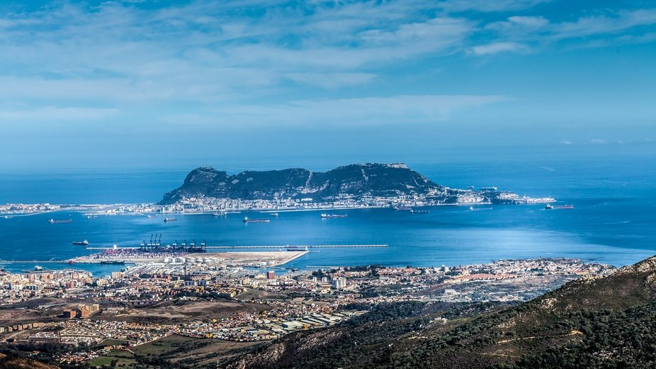 Gibraltar and its surroundings