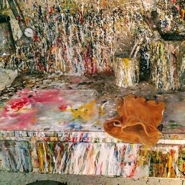 Body shop paint room