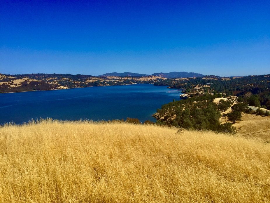 Pardee dam near Jackson California