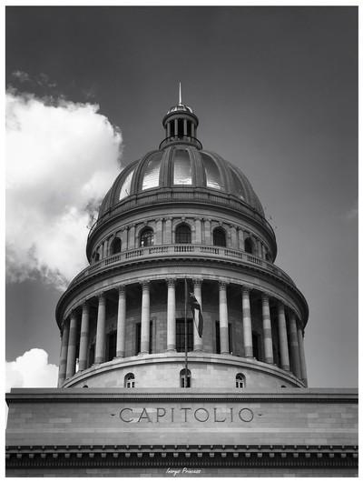 Capitolio Nacional de La Habana. (Capitol of Havana City), Cuba.