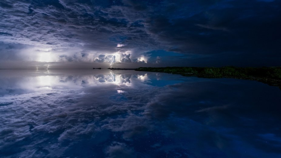 Thunderstorm at Playa Pila - Cayo Guillermo - Cuba