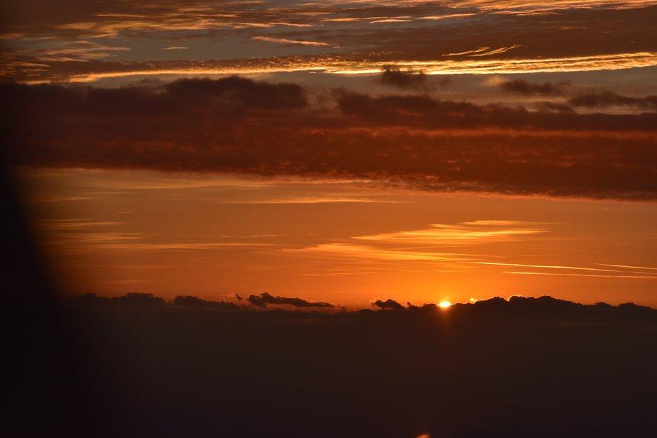 Sunrise above the horizon 2