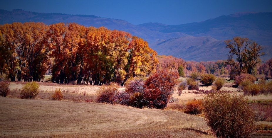 Autumn in Kremmling Colorado in 10/2020
