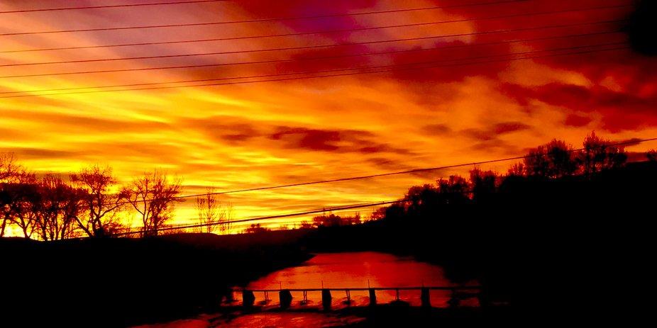 Sunrise in Idaho