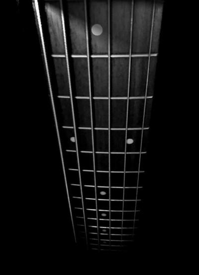 Bass Strings at Night